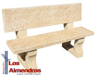 Banco Fidys Natural Decogarden Los Almendros